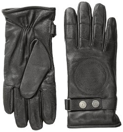Men's ZB Leather Moto Gloves by Armani Jeans in The Place Beyond The Pines