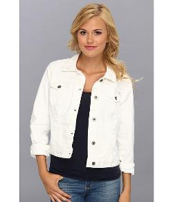 Dixie Denim White Jacket by Lucky Brand in The Maze Runner