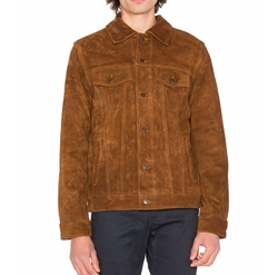 Django Suede Jacket by Deus Ex Machina in Logan