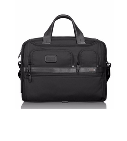 'Alpha 2' Expandable Laptop Briefcase by Tumi in The Accountant