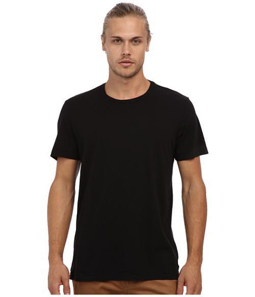 Crew Neck Whisper Jersey T-Shirt by Velvet by Graham & Spencer in Warm Bodies