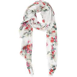 Floral-print Gauzy Scarf by Barneys New York in What If