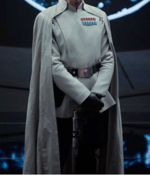 Custom Made Imperial Officer Costume by David Crossman	and Glyn Dillon (Costume Designers) in Rogue One: A Star Wars Story