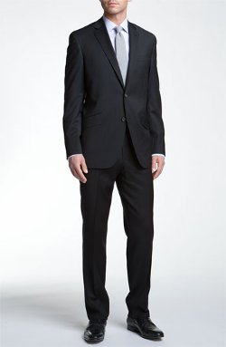 'Jones' Trim Fit Wool Suit by Ted Baker London in Need for Speed