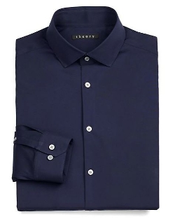 Slim-Fit Dover Luxe Dress Shirt by Theory in Furious 7