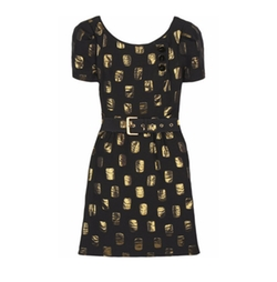 Jacquard Short-Sleeve Dress by Marc by Marc Jacobs in Fuller House