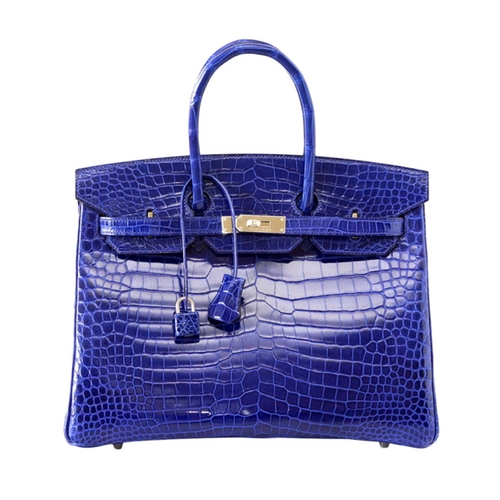 Birkin Porosus Crocodile Bag by Hermes in Keeping Up With The Kardashians - Season 12 Episode 3