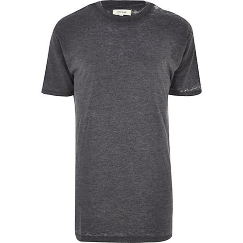 Burnout Longer Length T-Shirt by River Island in The Other Woman