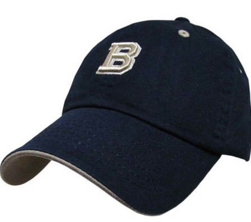 Letter Embroidery Baseball Cap by S Cloth in Knight and Day