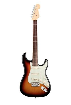 American Deluxe Stratocaster Electric Guitar by Fender in Begin Again