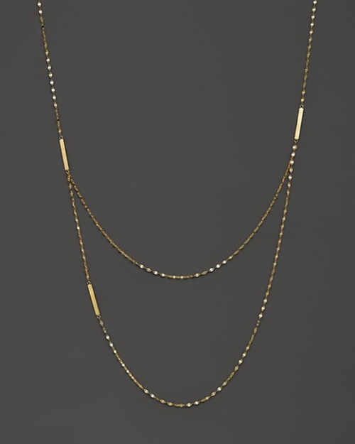 Tri Bar Necklace by Lana Jewelry in Suits - Season 5 Episode 7