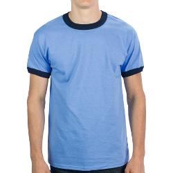Ringer T-Shirt by Gildan in Project Almanac