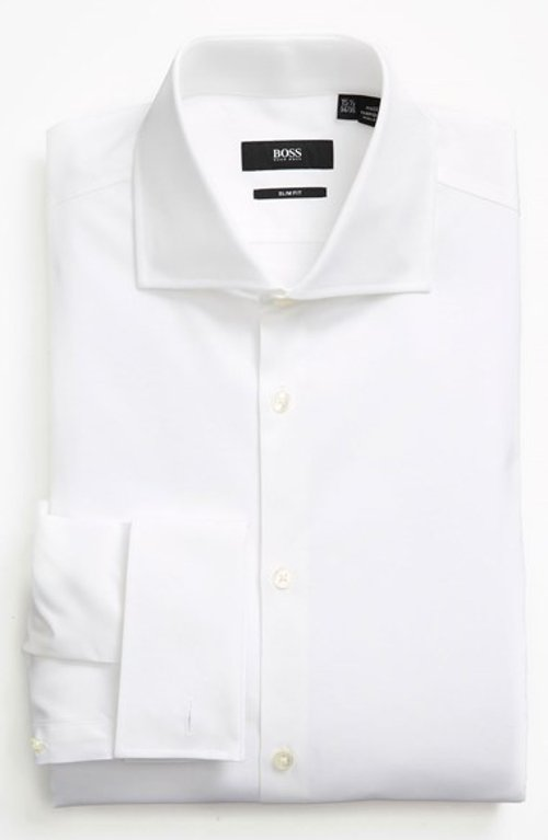 Slim Fit Dress Shirt by Boss Hugo Boss in Sex and the City 2