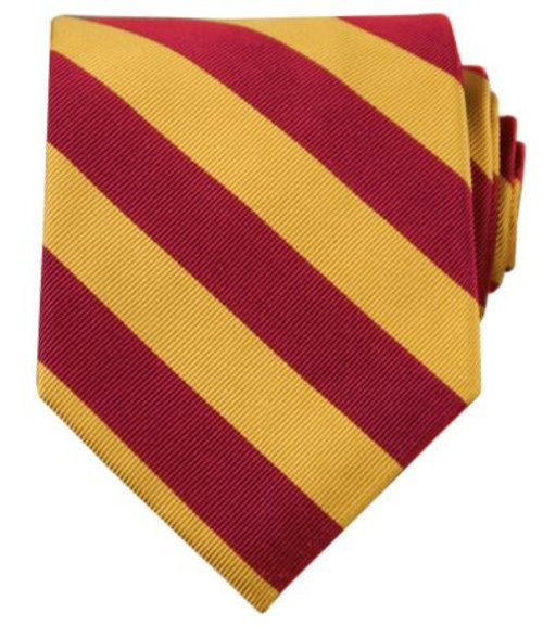 Collegiate Tie-Garnet by Jos. A. Bank in Pitch Perfect 2