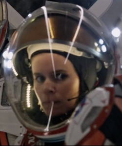 Custom Made Astronaut Suit (Beth) by Janty Yates (Costume Designer) in The Martian