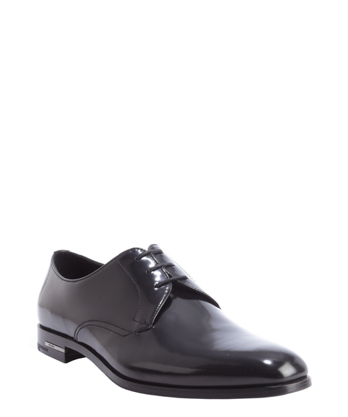 Leather Lace Up Oxfords Shoes by Prada in Ride Along 2
