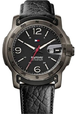 Sky Winder Dial Leather Strap Watch by Tommy Hilfiger in The Flash