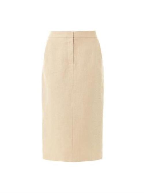 Bona pencil skirt by MAXMARA in Blended