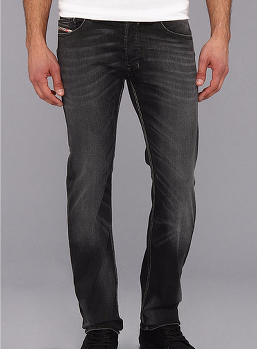 Safado Straight Denim Jeans by Diesel in The Intern