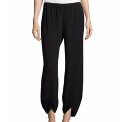 Wide-Leg Lantern Ankle Pants by Eileen Fisher in Grace and Frankie