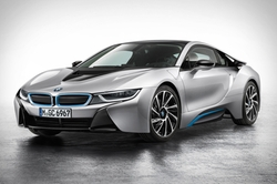 i8 Sports Car by BMW in Alvin and the Chipmunks: The Road Chip