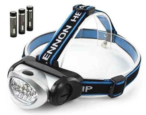 Lightweight Headlamp by Aennon in Everest