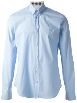 button down shirt by BURBERRY BRIT in The Fault In Our Stars
