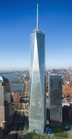 Manhattan, New York by One World Trade Center in Need for Speed