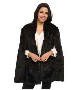 Plush Faux Fur Cape by Vince Camuto in John Wick