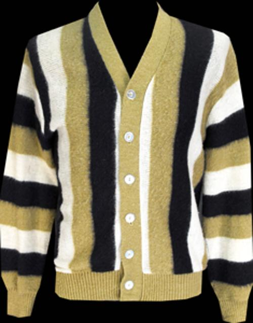 1960's Mohair Striped Slender Medium by Monstervintage in Get On Up