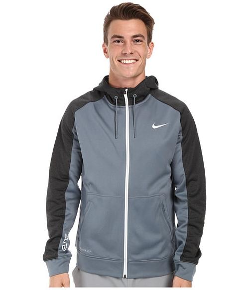 Elite Stripe Full-Zip Performance Fleece Hoodie by Nike in Maze Runner: The Scorch Trials