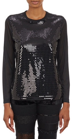 Sequin-Front T-shirt by Junya Watanabe Comme Des Garçons in Sex and the City 2