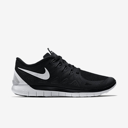 Women's Running Shoes by Nike Free 5.0 in Blackhat
