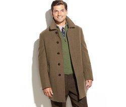 Solid Wool-Blend Overcoat by Lauren Ralph Lauren in John Wick
