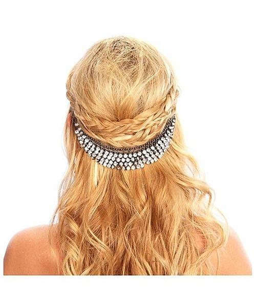 Crystal Hair Grip by Kristin Perry Accessories in Scream Queens - Season 1 Episode 2