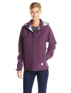 Women's Zip Front Hooded Breathable Jacket by Carhartt in Love the Coopers