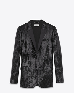 Iconic Le Smoking Jacket by Saint Laurent in Sex and the City