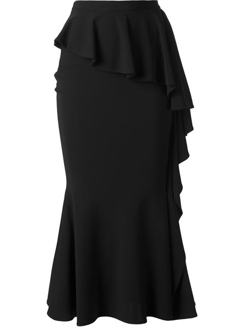 Long Ruffled Skirt by Givenchy in Keeping Up With The Kardashians