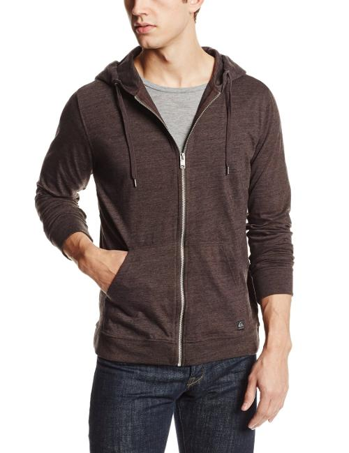Men's Base Nectar Hoodie Jacket by Quiksilver in Hot Tub Time Machine 2