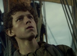 Custom Made Shirt (Young Thomas Nickerson) by Julian Day (Costume Designer) in In the Heart of the Sea