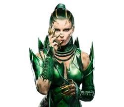 Rita Repulsa Green Battle Suit by Kelli Jones (Costume Designer) in Power Rangers