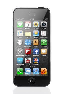 iPhone 5 by Apple in Begin Again