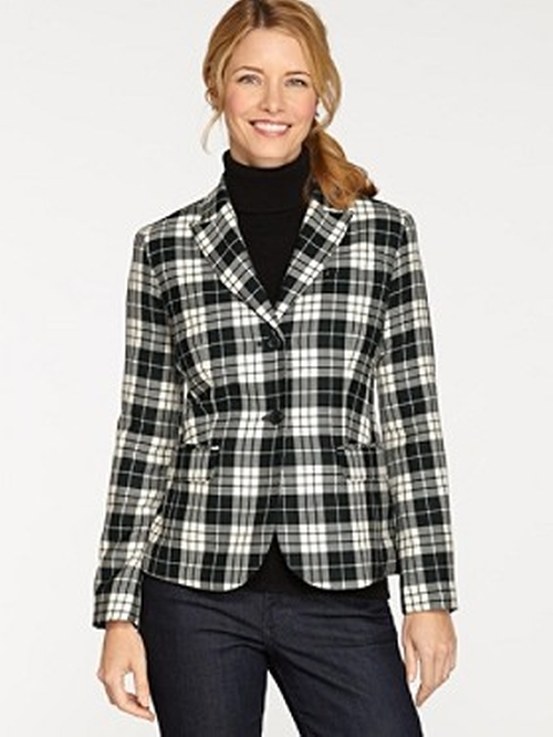 Plaid Suit Jacket by Pendleton in Clueless