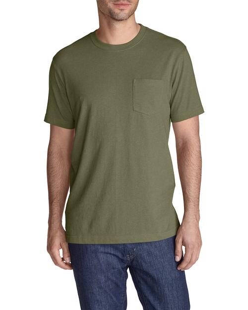 Legend Wash Pocket T-Shirt by Eddie Bauer in New Girl - Season 5 Episode 6