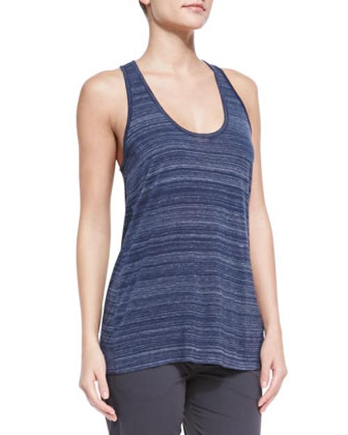 Striped Racerback Slub Tank Top by Vince in Let's Be Cops