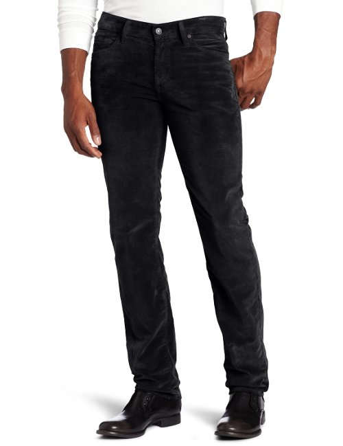 Slim Straight-Leg Corduroy Pants by 7 For All Mankind in The Counselor