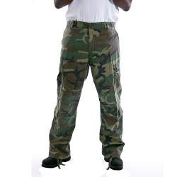 Camouflage Vintage Paratrooper Cargo Pants by Rothco in Step Up: All In