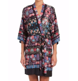Meander Floral Print Knit Wrap Robe by In Bloom in New Girl