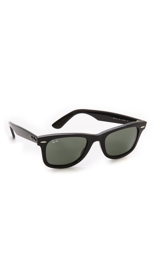 Original Wayfarer Sunglasses by Ray Ban in The Man from U.N.C.L.E.