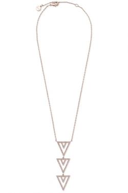 Pavé Spear Pendant Necklace by Stella & Dot in Pretty Little Liars